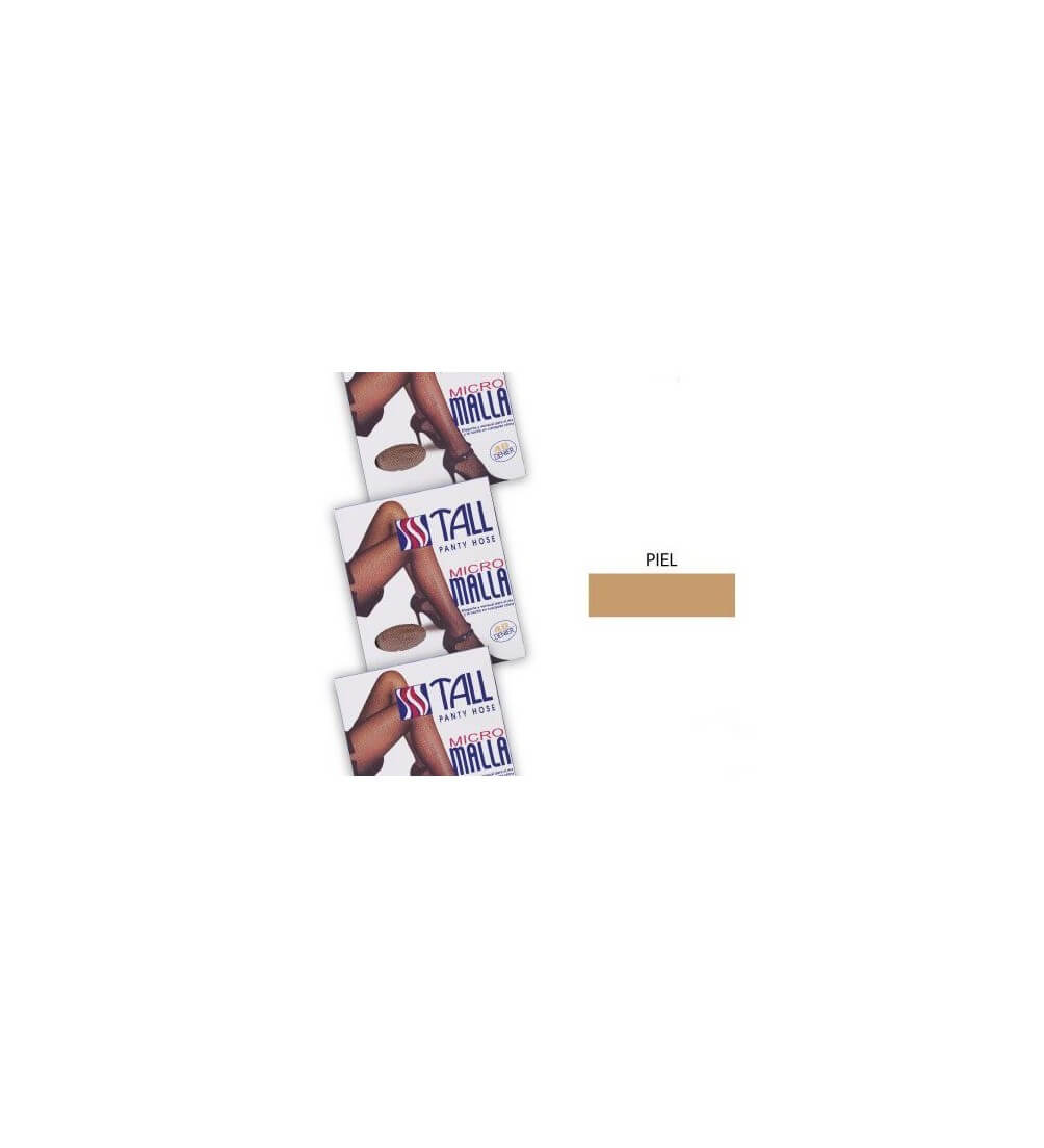 Micro Malla-PIEL TALL