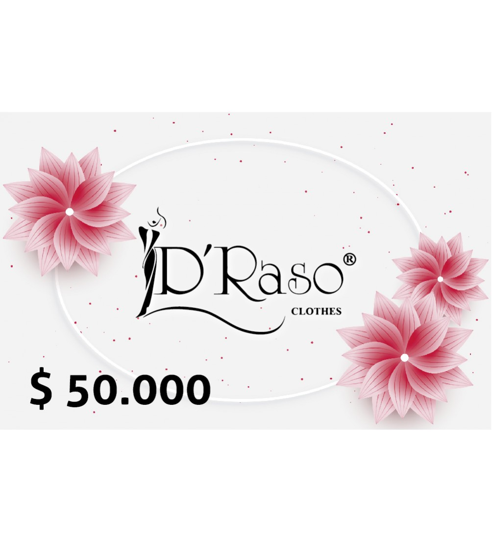 Bono Regalo $50.000 Draso Clothes