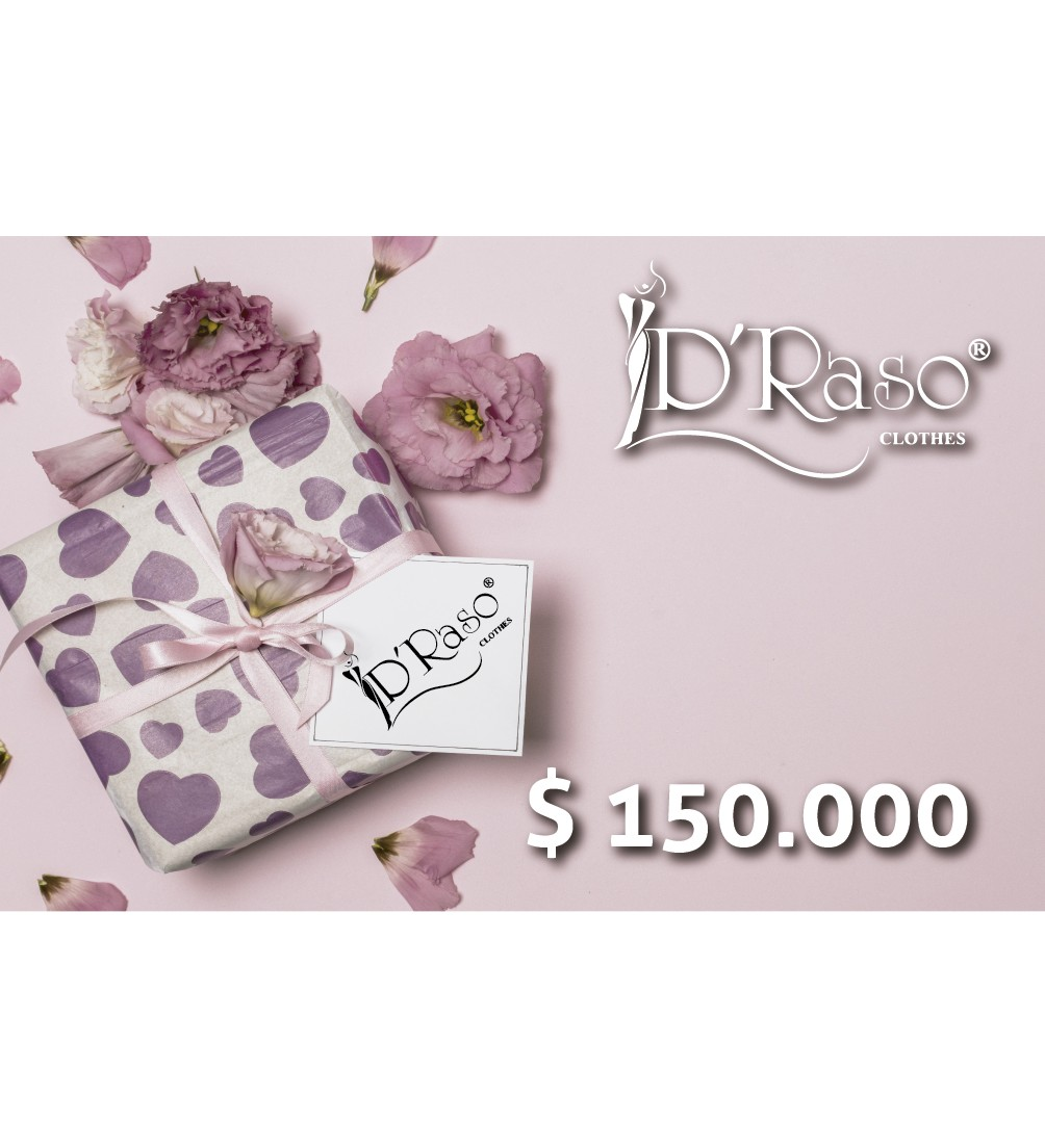 Bono Regalo $150.000 Draso Clothes