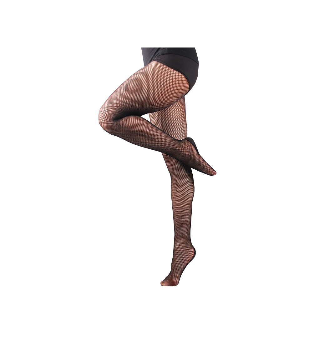 Media Malla profesional color negro / Professional fishnet tights