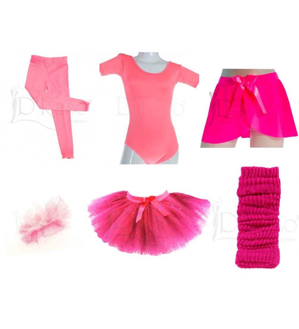 Kit ballet  rosa barbie - fucsia